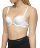 2 Size Up Bra - White