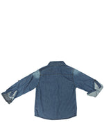 Boys Denim Shirt - Blue