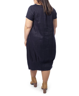 Gilly Dress - Navy