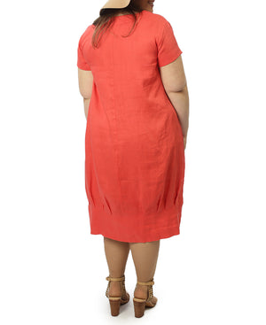 Gilly Dress - Orange