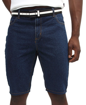 Denim Short - Navy