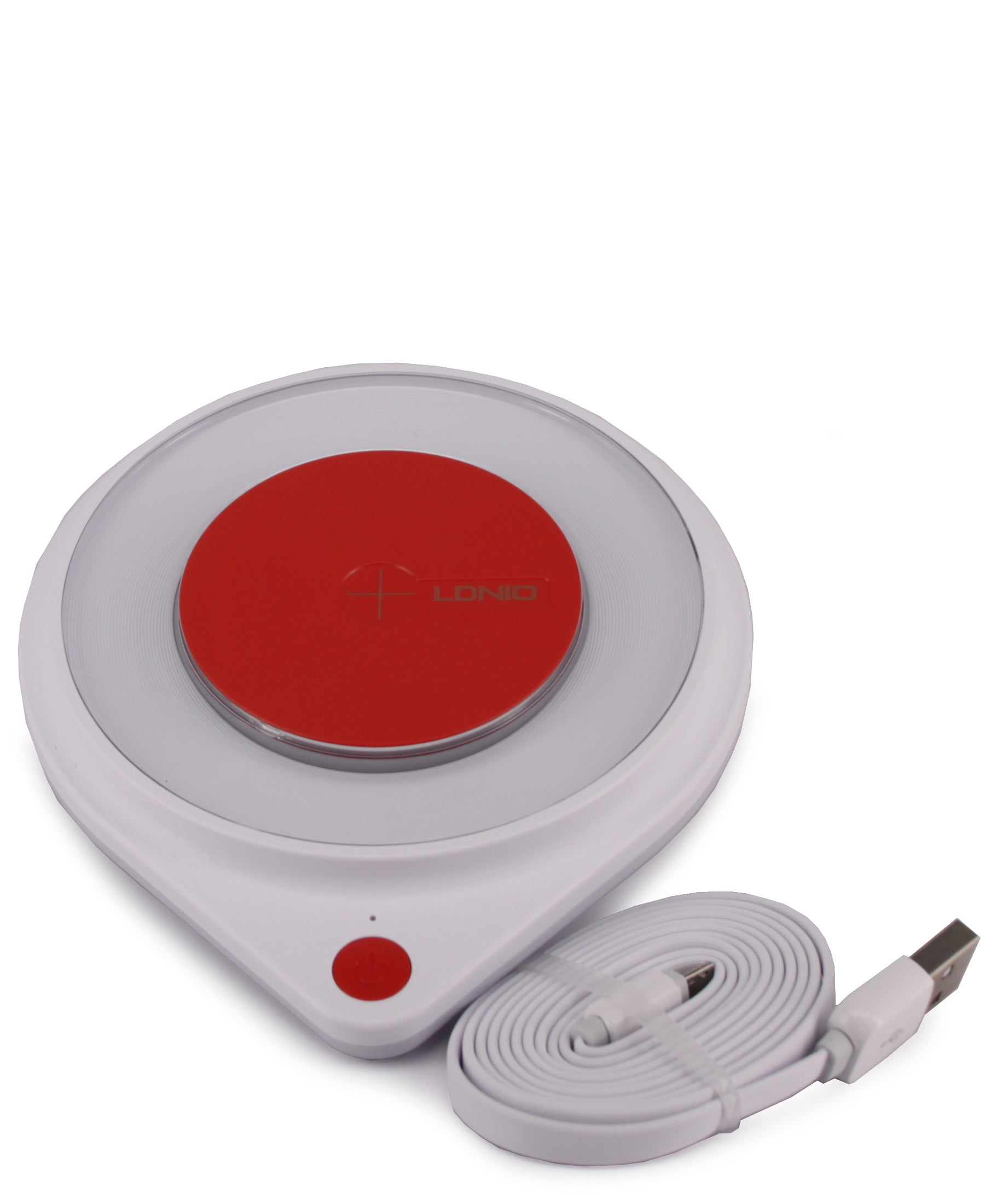 Wireless Charging Pad - Red