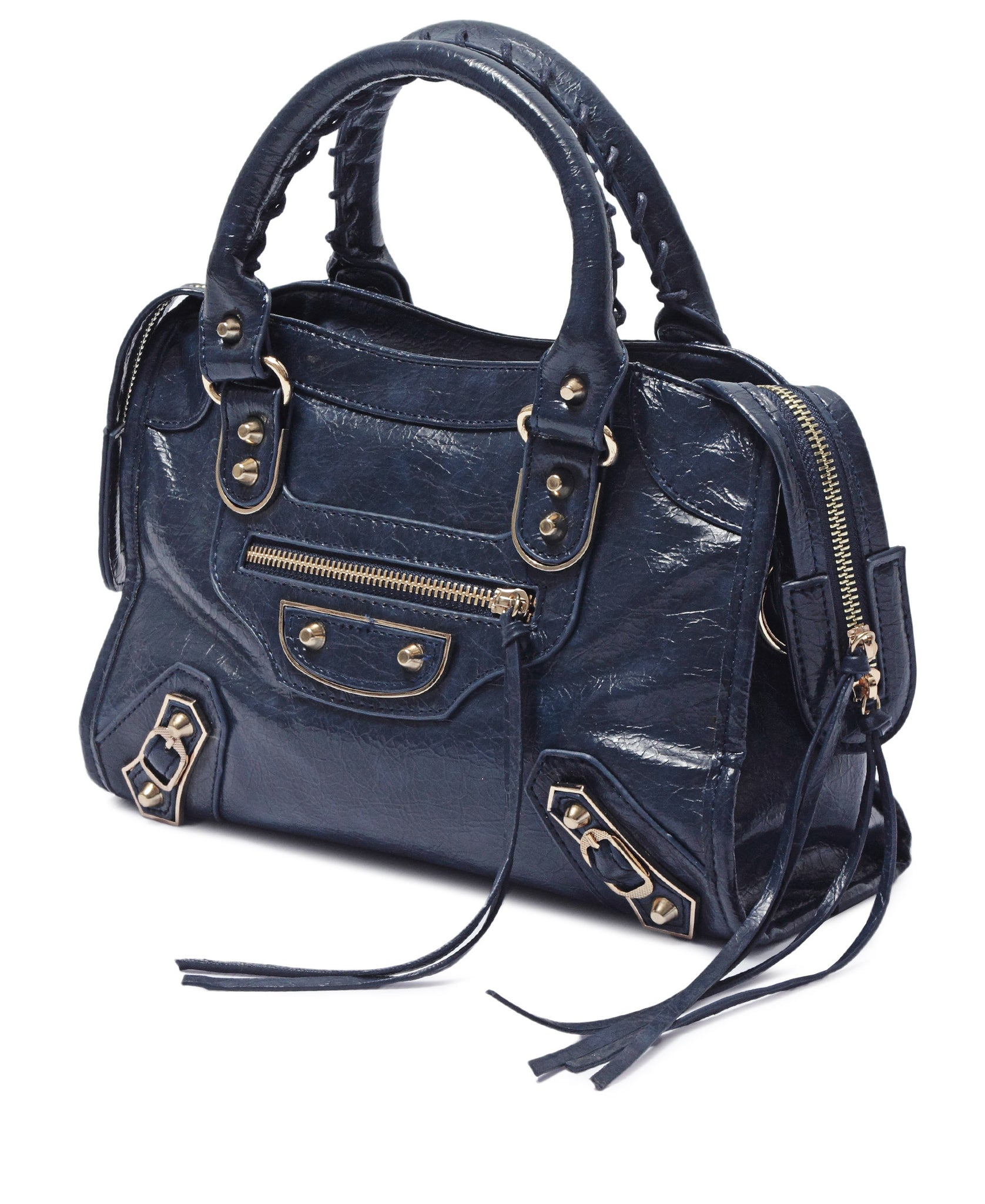 Mid Size Tote Bag - Navy