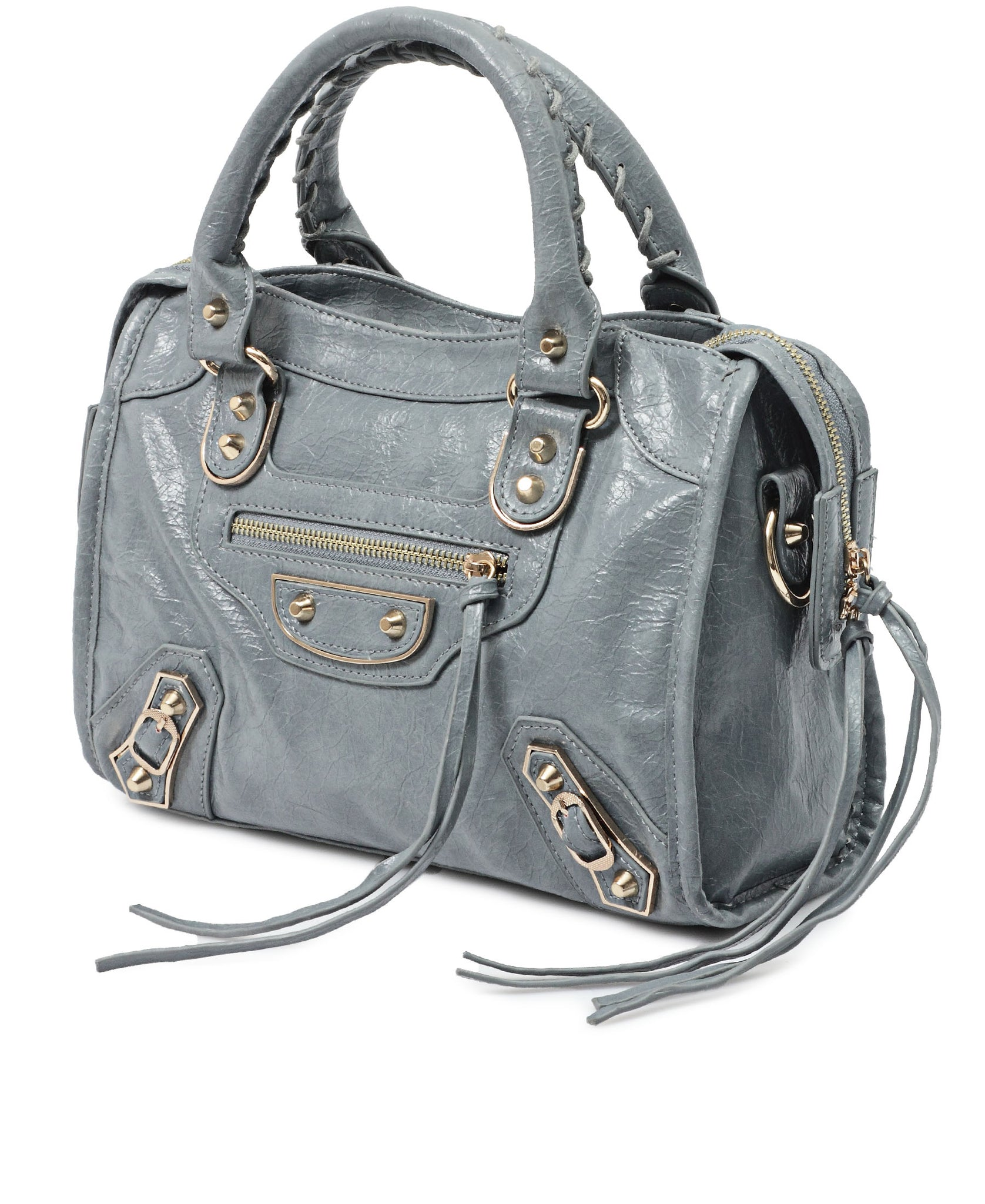 Mid Size Tote Bag - Light Blue