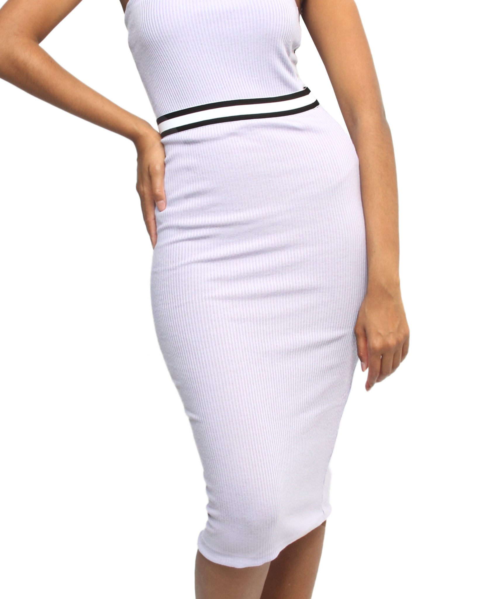 Bodycon Skirt - Purple