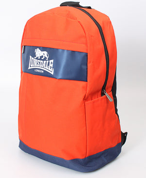 Lonsdale Backpack - Orange