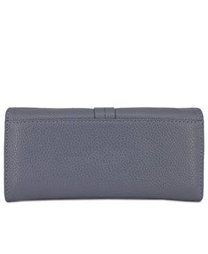 Genuine Leather Wallet - Blue