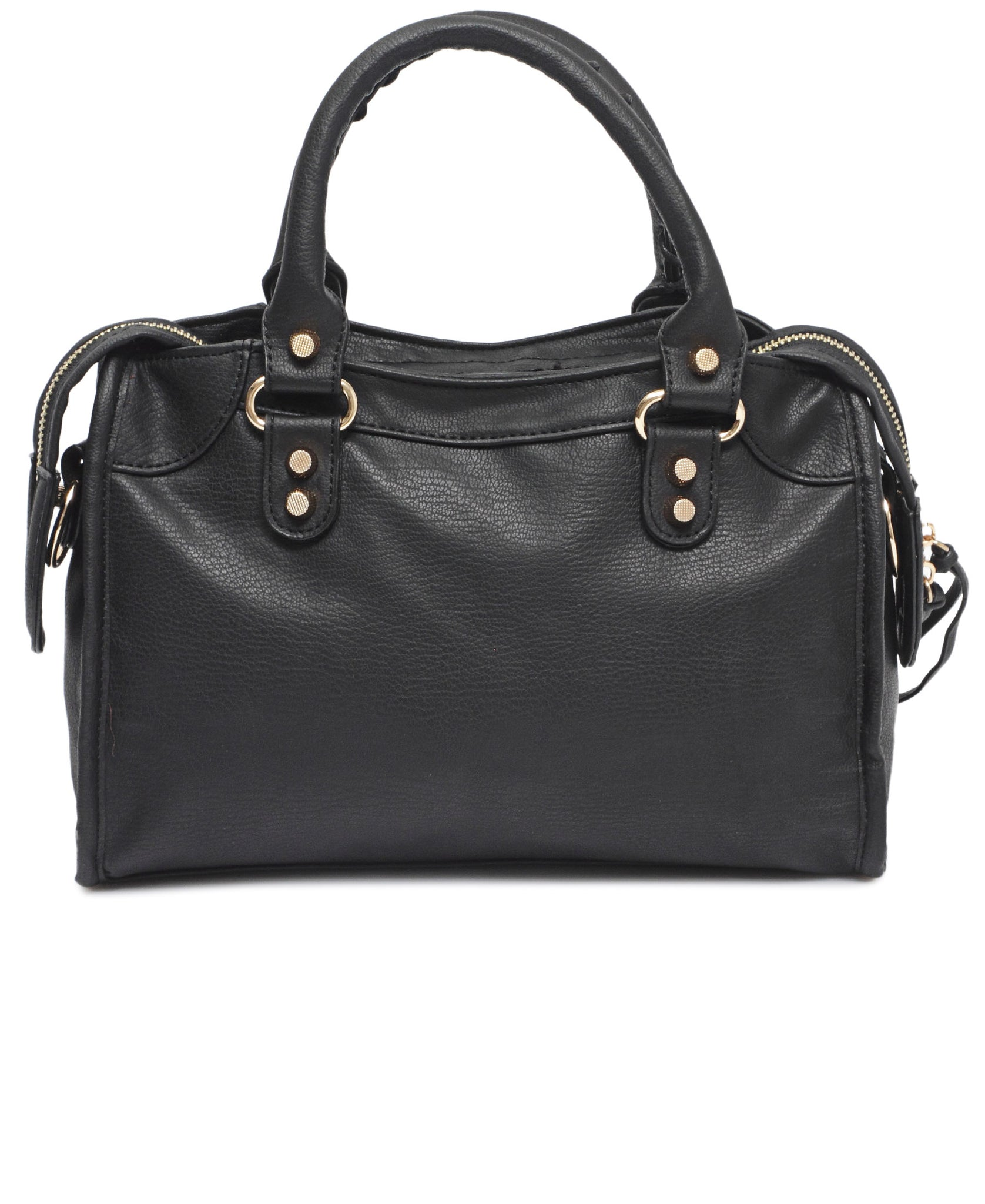 Mid Size Tote Bag - Black