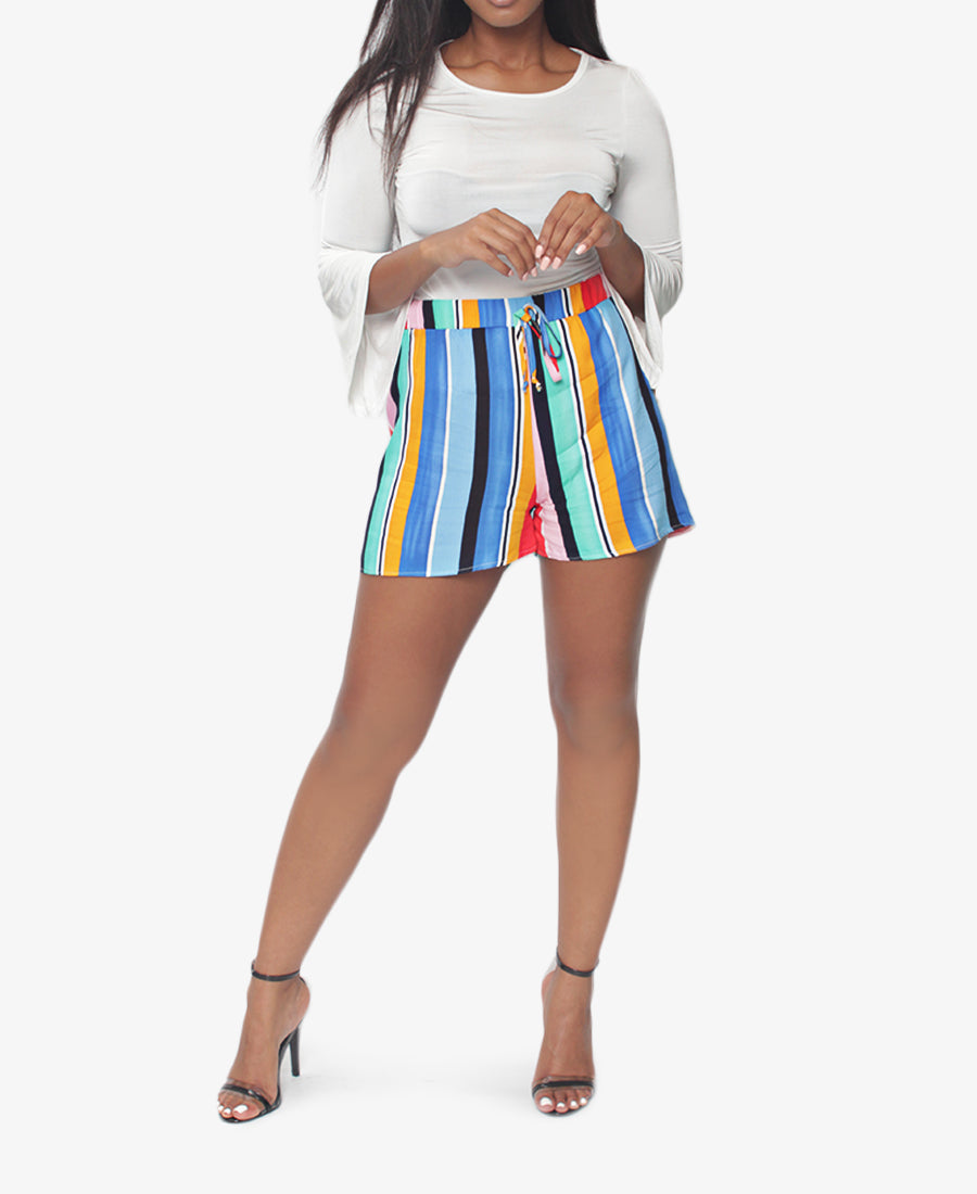 Striped Shorts - Multi