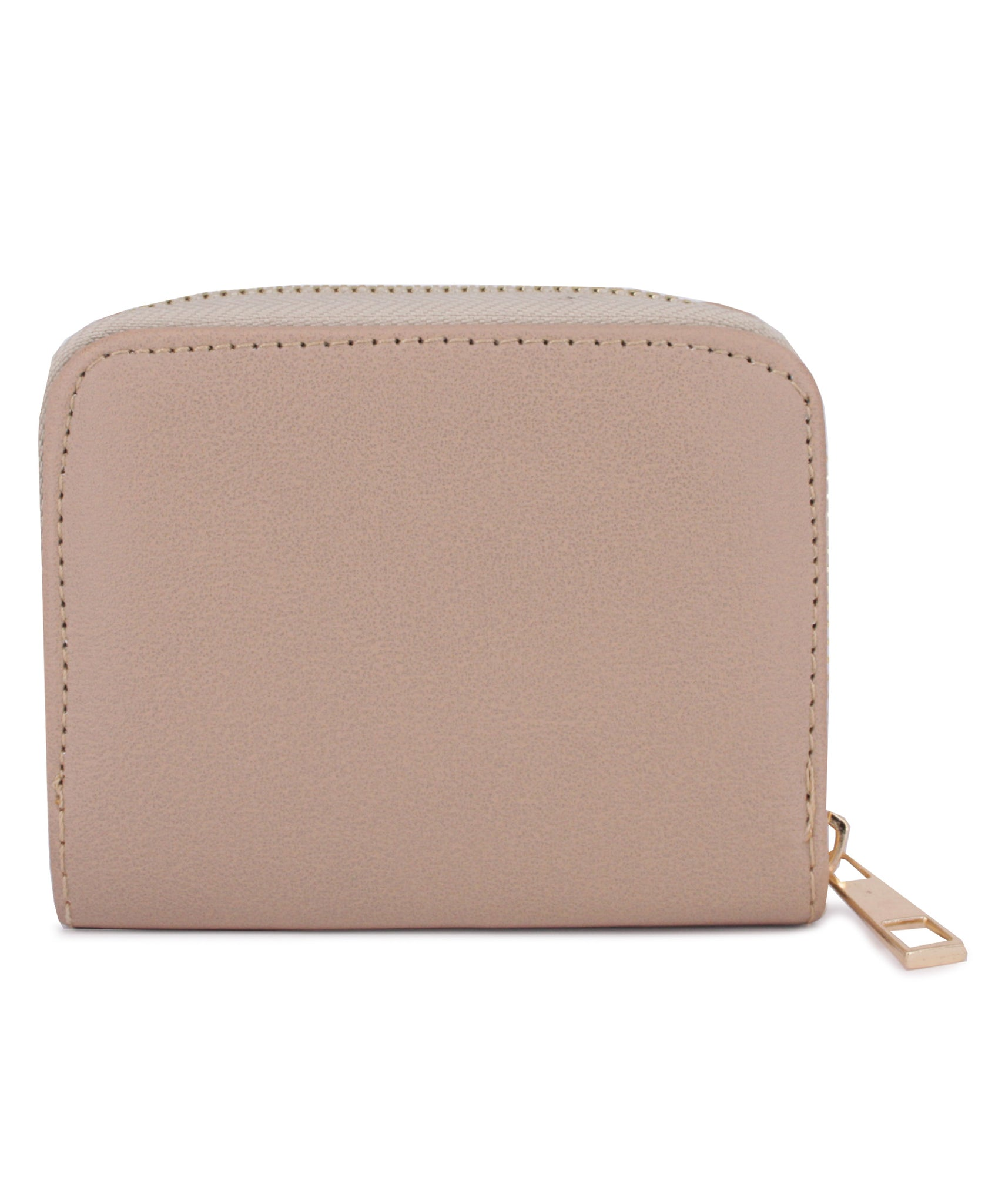 Zipper Wallet - Taupe