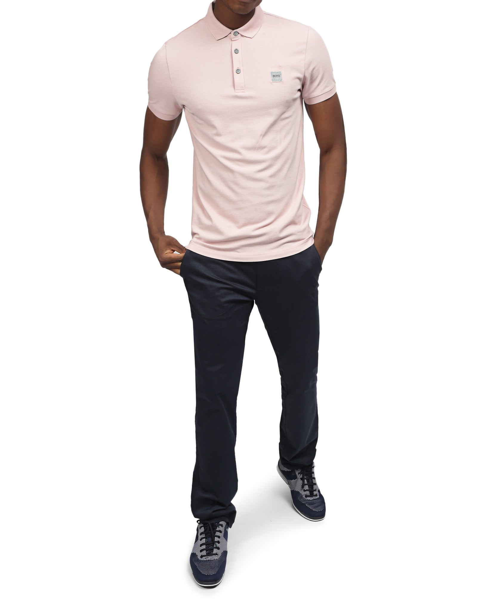 Slim Fit Hugo Boss Golfer - Mink