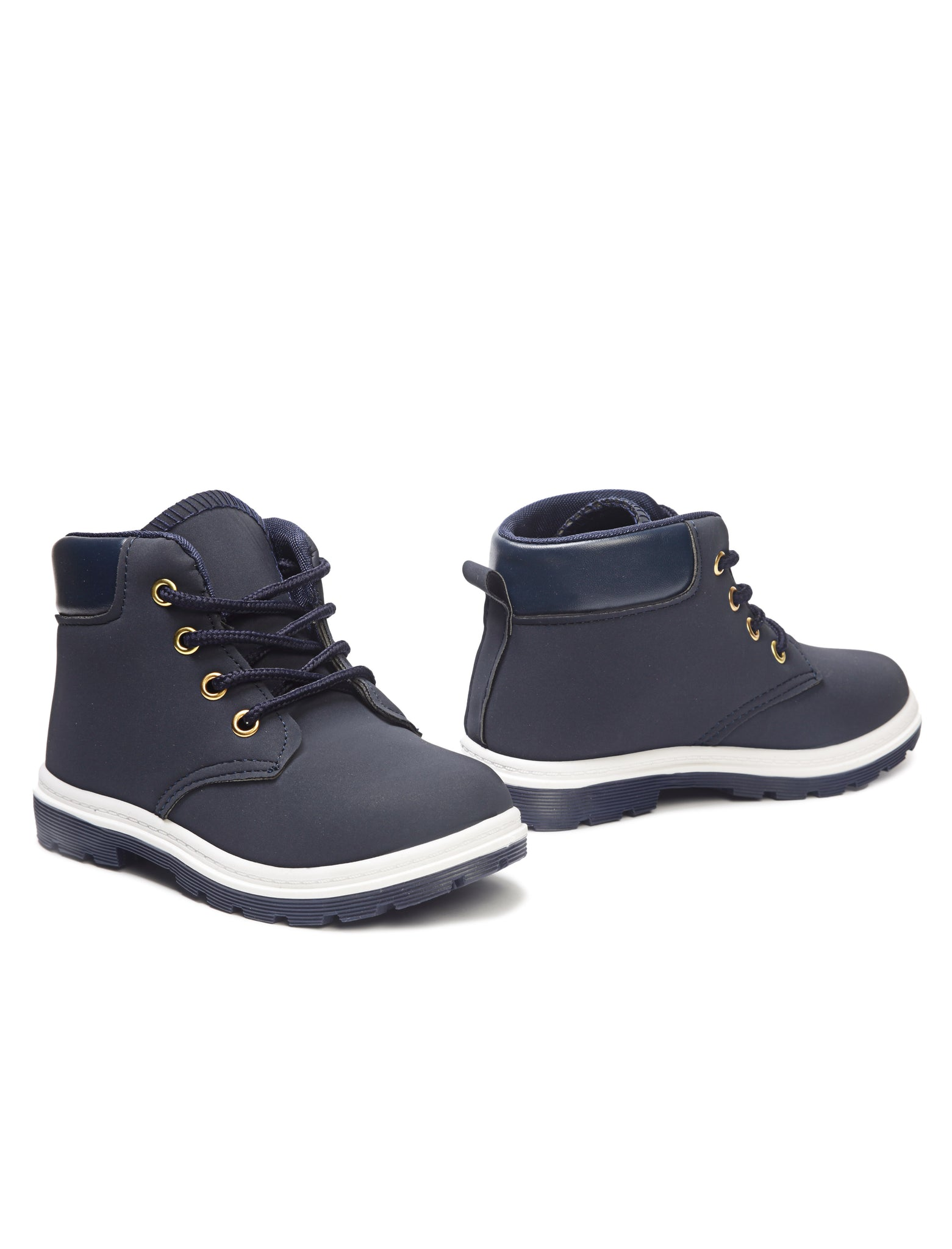 Boys Ankle Boots - Navy