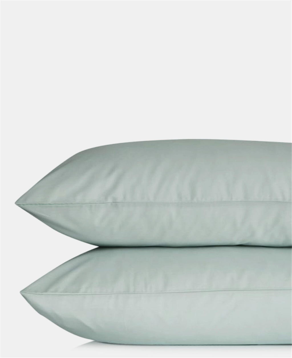 2 Pack 180 Thread Count Horrockses Pillowcases - Duck Egg
