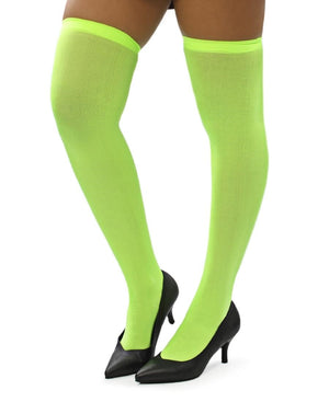 Plain Stockings - Light Green