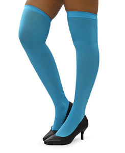Plain Stockings - Light Blue