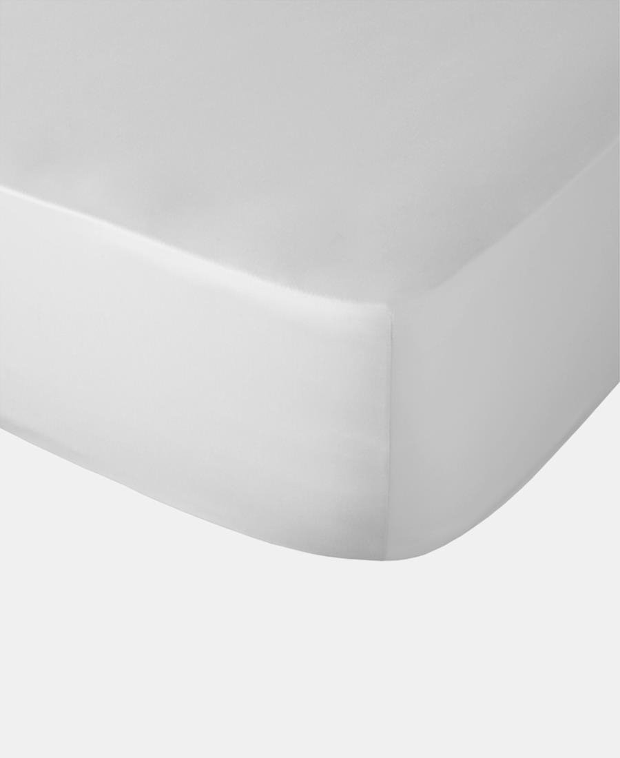 Polycotton Fitted Sheet - White