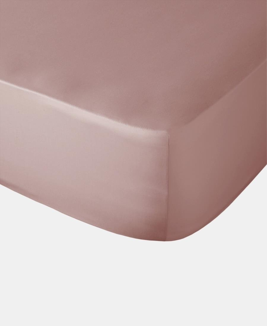 Polycotton Fitted Sheet - Blush