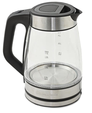 Russell Hobbs 1.7L Cordless Glass Kettle - Clear