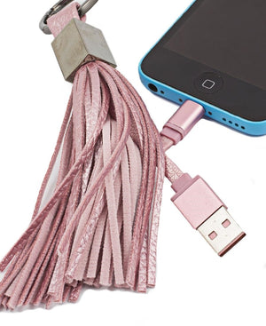 Iphone Tassel Ring - Pink