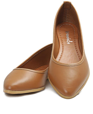 Pumps - Tan