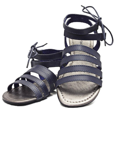 Strappy Sandals - Navy