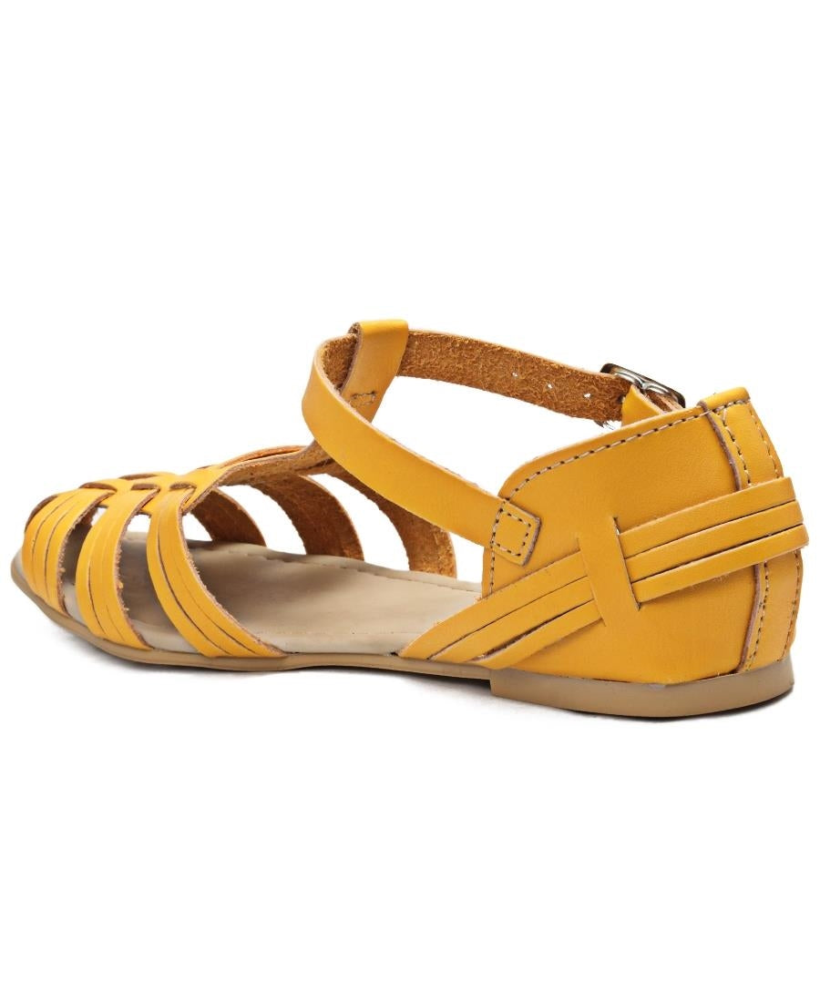 Casual Sandals - Mustard