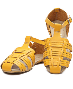 Girls Casual Sandals - Mustard