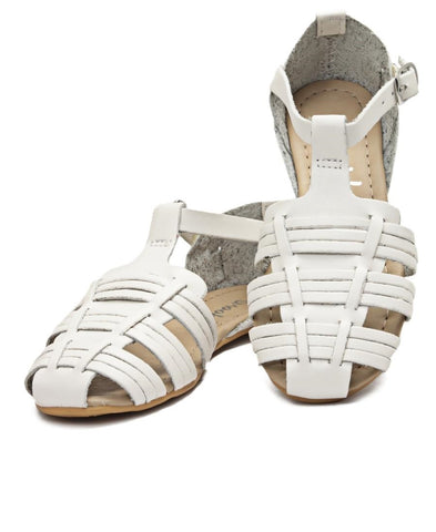 Girls Casual Sandals - White