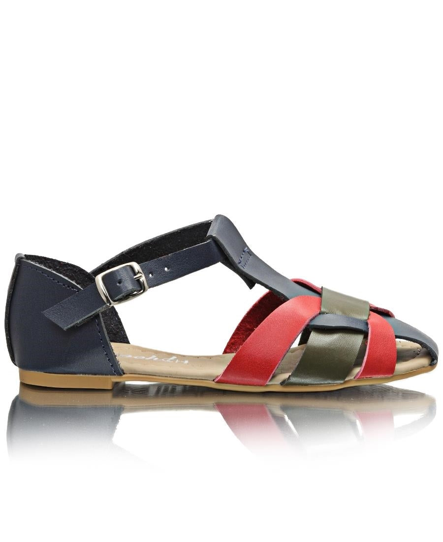 Girls Casual Sandals - Navy