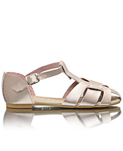 Girls Casual Sandals - Rose Gold