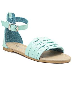 Girls Casual Sandals - Mint