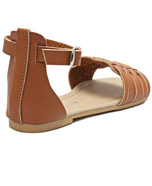 Girls Casual Sandals - Tan