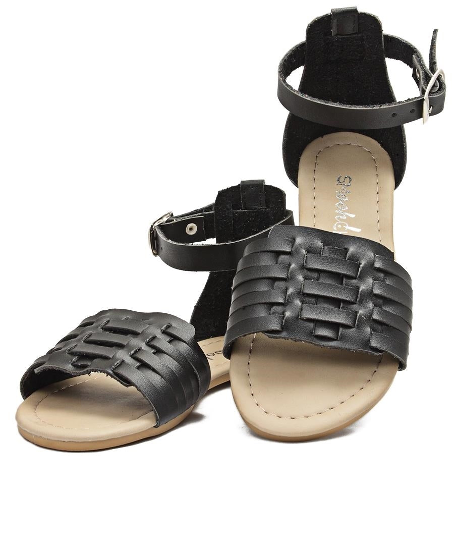 Girls Casual Sandals - Black