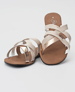 Strappy Sandals - Taupe