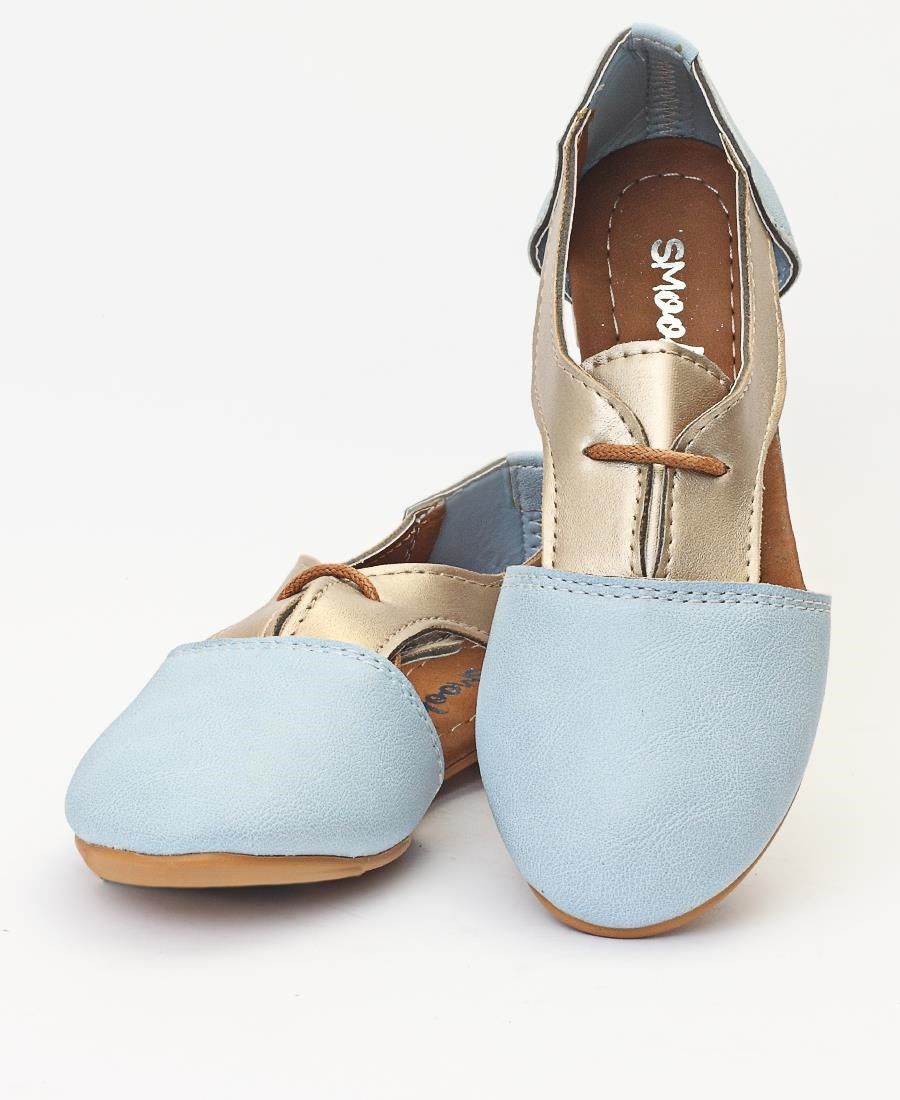 Girls Boyfriend Shoe - Blue