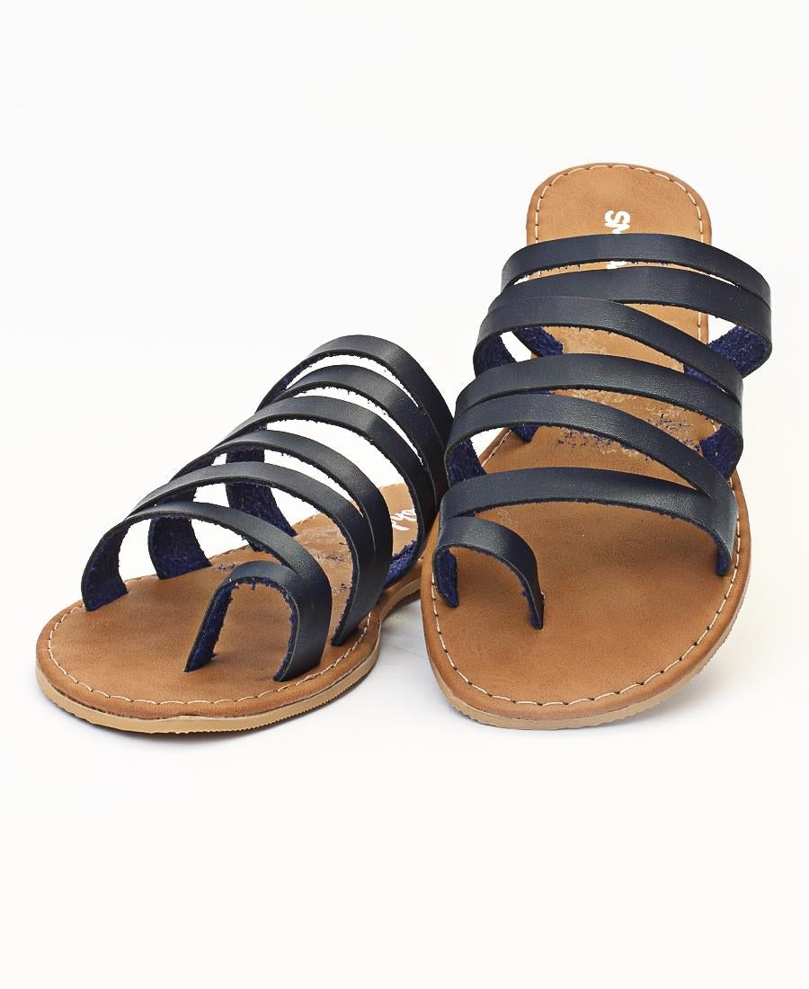 Ladies' Sandals - Navy