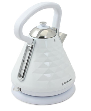 Russell Hobbs Diamond Dome Kettle - White