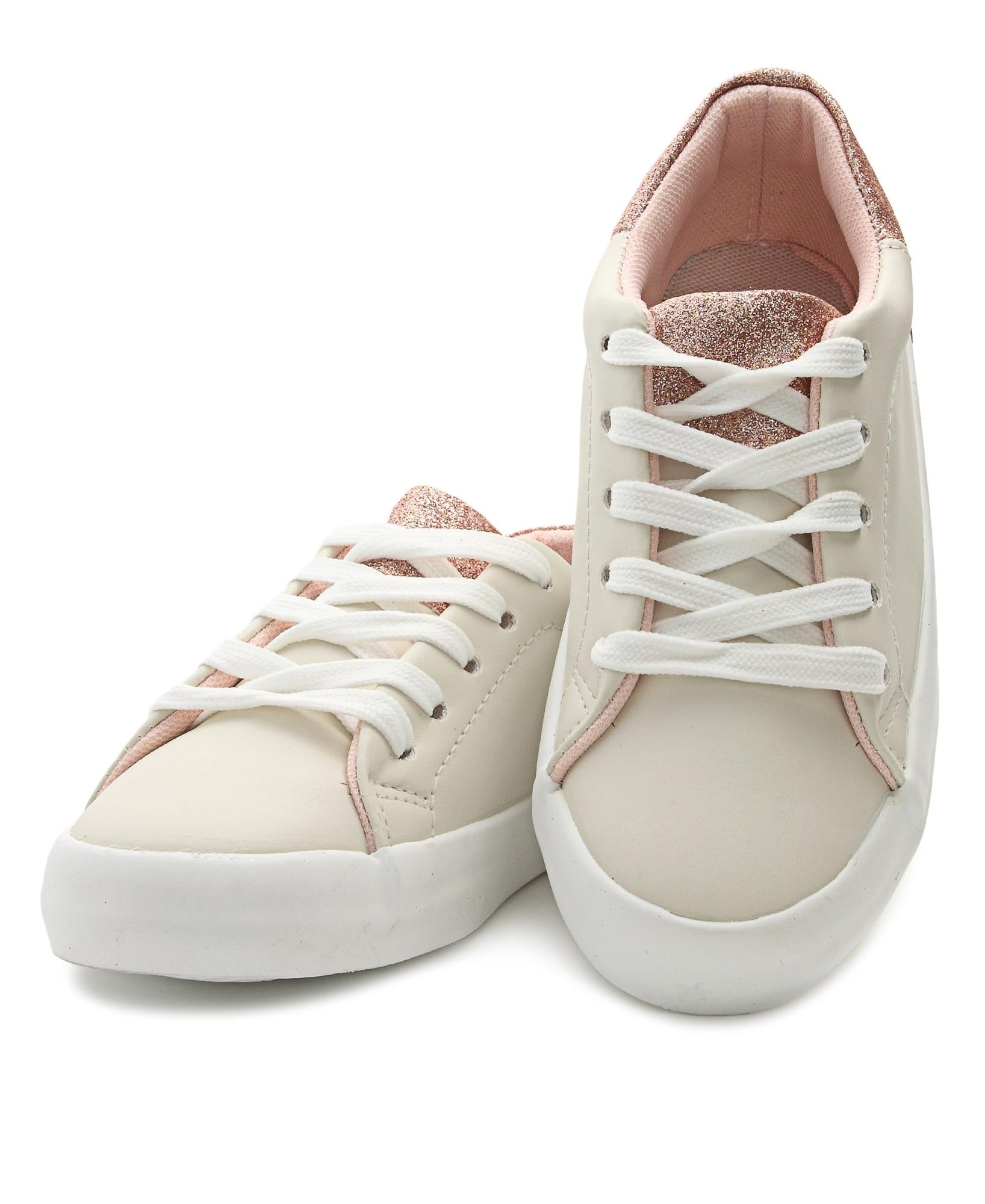 Girls Sneakers - Beige