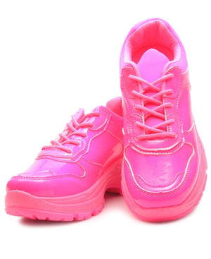 Ladies' Lumo Sneakers - Pink