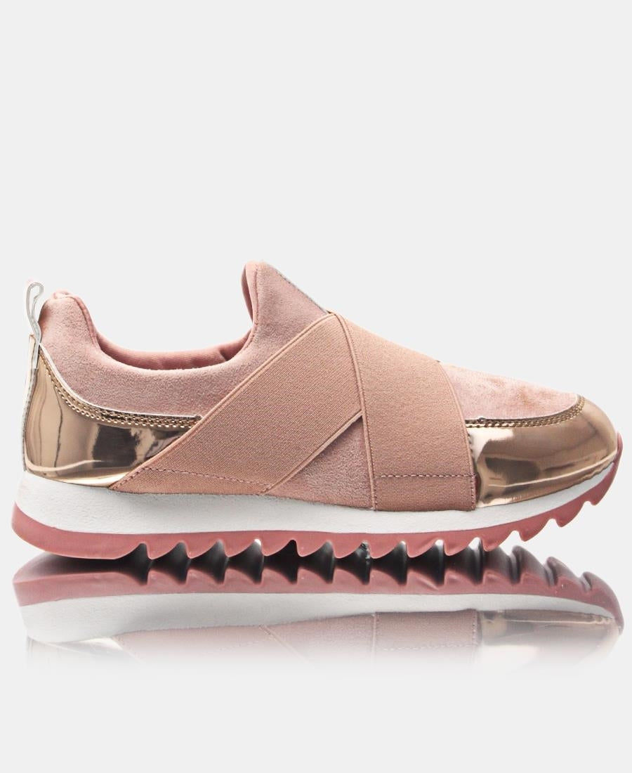 Ladies' Casual Sneakers - Mink