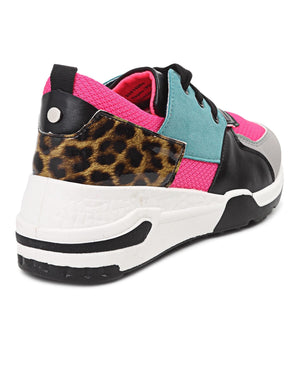 Ladies' Ease Sneakers - Fuschia
