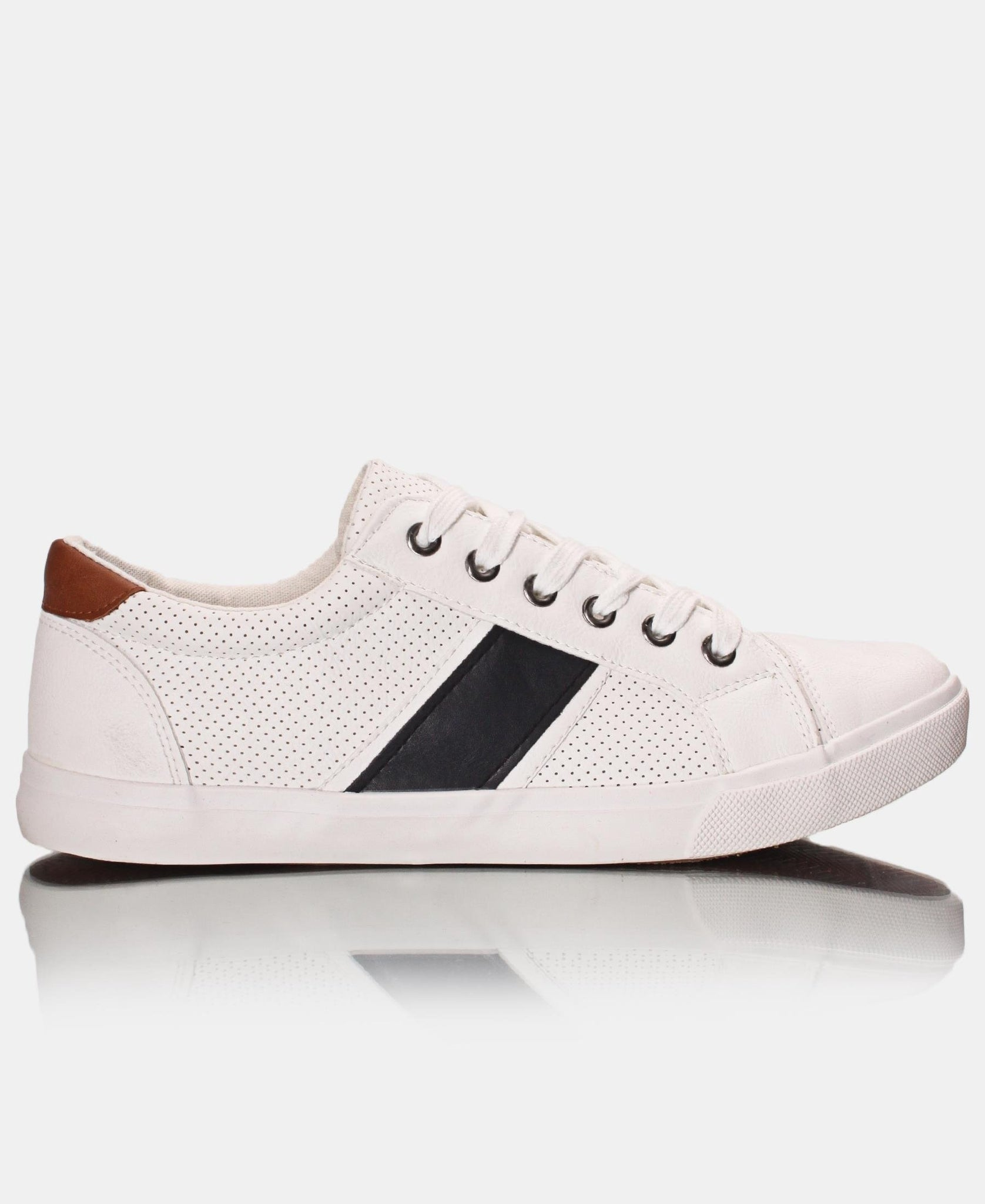 Men's Plug Sneakers - White