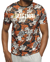 Printed T-Shirt - Rust