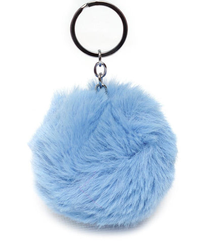 Fluff Keyholder - Light Blue