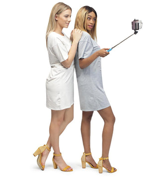 Foldable Selfie Stick - Pink