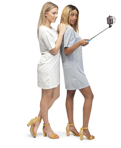 Foldable Selfie Stick - Black