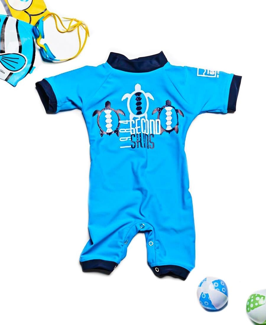 Toddlers  Sunsuit - Blue