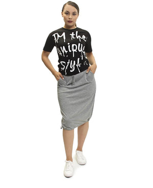 Bubble Skirt  - Grey
