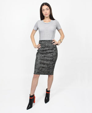 Pencil Skirt - Green