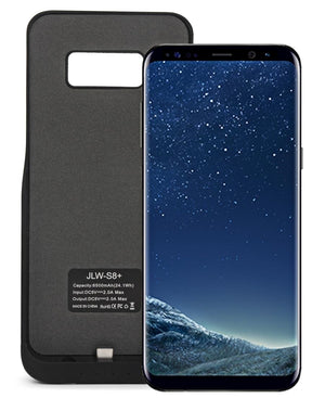 Samsung S8 Plus Power Charging Case 5500mAh  - Black